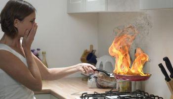Как избежать пожара на кухне